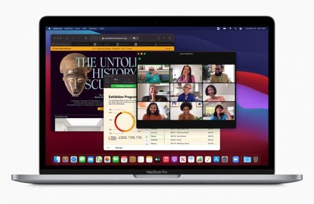 Macbook Pro mit M1-Chip und Big Sur