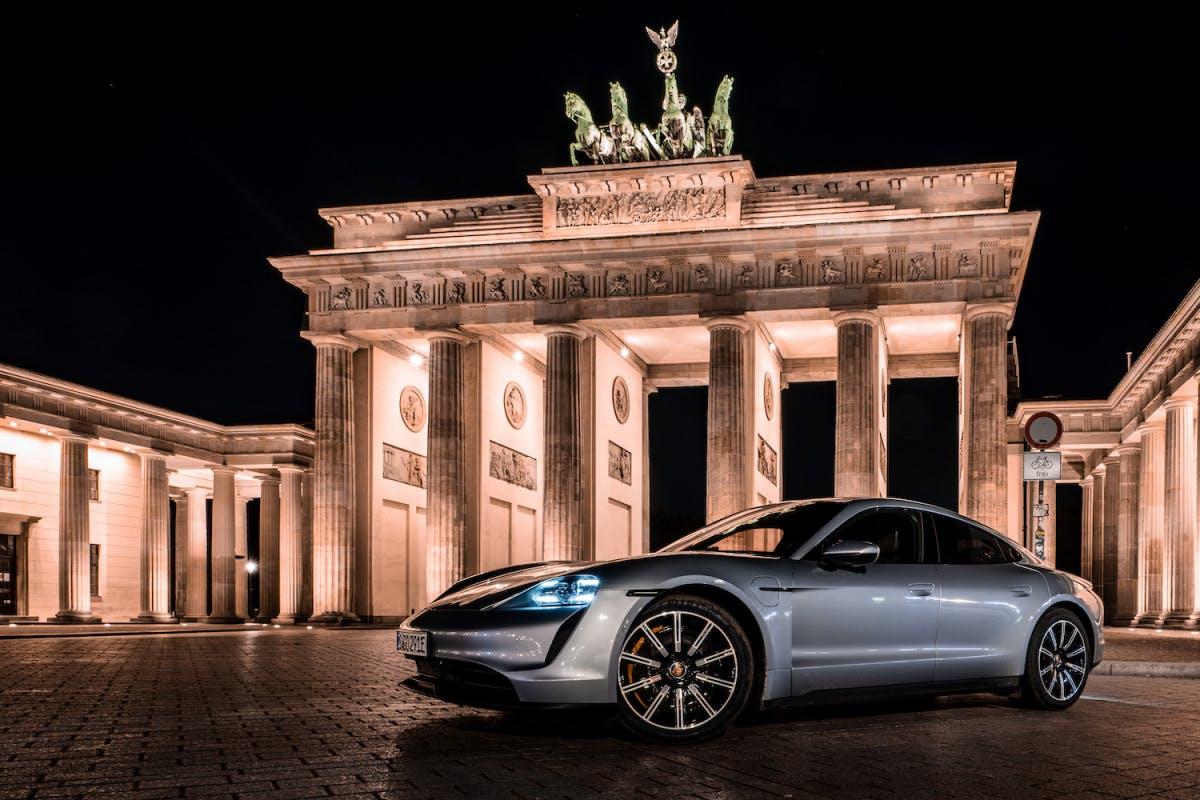 Porsche Taycan in Berlin