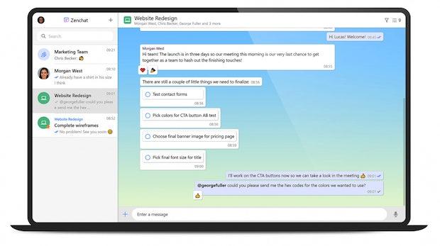 Zenchat: Deutsche Slack-Alternative verbindet Messaging mit Aufgabenverwaltung