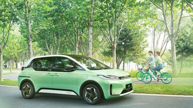 Dreist geklaut: Chinesischer Stromer Didi D1 sieht dem VW ID-3 zum Verwechseln ähnlich