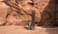 Mysteriöser Metall-Monolith in Utah sorgt für Goldgräberstimmung auf Google Earth
