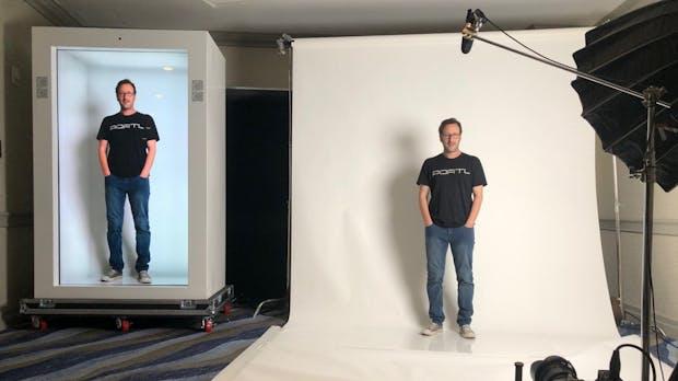 Ein Hologramm im Wohnzimmer: So will Portl den Massenmarkt erobern