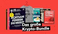 Bitcoin, Ether, OMG? Sichere dir das große Krypto-Paket zu deinem neuen t3n Abo!