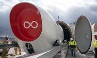 Durchbruch bei Hyperloop: Erste bemannte Testfahrt erfolgreich