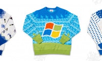 Microsoft macht Mode: Ugly-Christmas-Sweater im Paint-Style