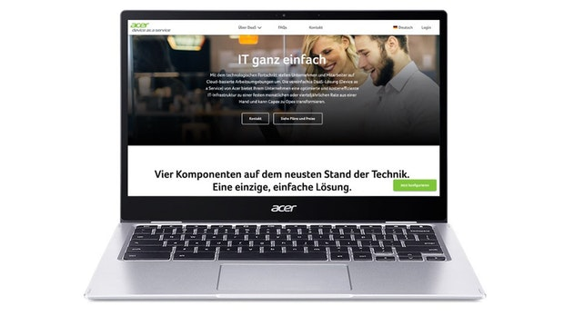 Hard- und Software mieten statt kaufen: Acer startet Programm für Startups und kleine Unternehmen