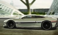 Zurück in die Zukunft: So schick könnte der Delorean als E-Auto 2021 aussehen