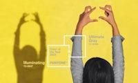 Illuminating Yellow und Ultimate Gray sind die Pantone-Farben 2021