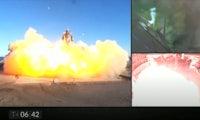 Erfolgreicher Misserfolg: SpaceX-Starship explodiert bei Landung