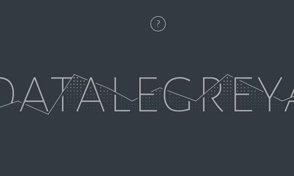 Dieser Font lässt euch mit Text versehene Datenkurven erstellen