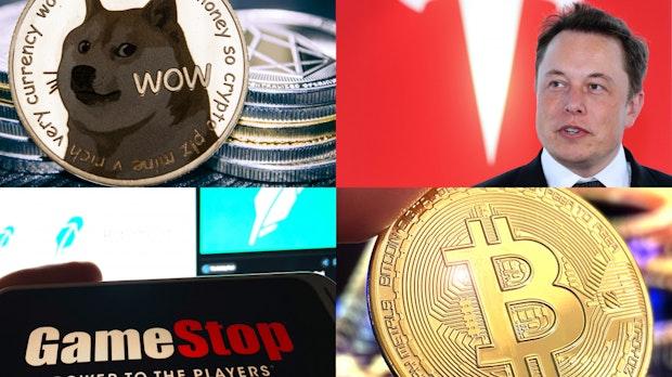 Gamestop, Tesla, Bitcoin: Wie Memes und Storys die Finanzwelt erschüttern