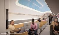 Virgin Hyperloop: So soll die Reise in dem futuristischen Röhrengefährt eines Tages aussehen