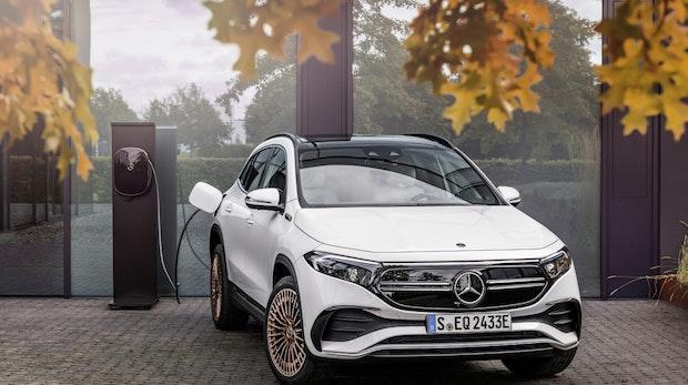 Mercedes EQA: Daimlers bisher günstigster Stromer startet bei 40.000 Euro