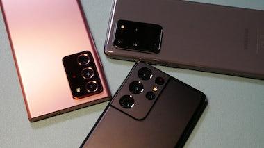 Samsung Galaxy S21 Ultra im Vergleich mit S20 Ultra und Note 20 Ultra
