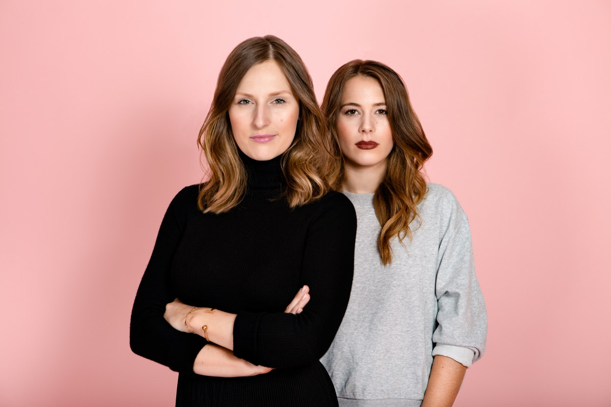 Ann-Sophie Claus und Sinja Stadelmaier, die Gründerinnen von The Female Company. (Foto: Linda Ambrosius)