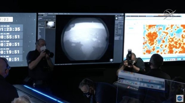 Mars-Bild vom Nasa-Rover Perseverance