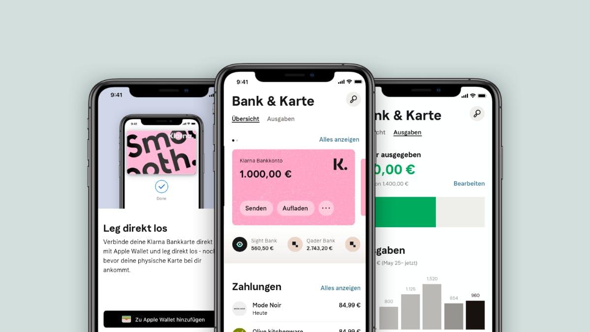 Konkurrenz für die Banken: Klarna launcht eigenes Girokonto - t3n – digital pioneers