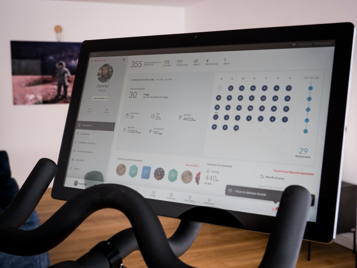 Peloton – Test – Display