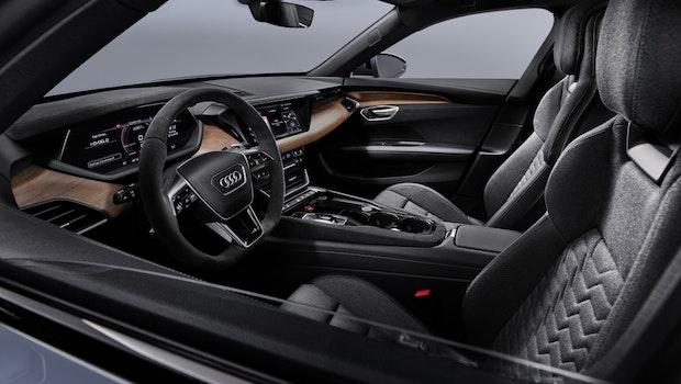 Audi E-Tron GT von innen. (Foto: Audi)
