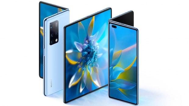 Huawei Mate X2: Neues Edel-Foldable erinnert an Samsungs Z Fold 2