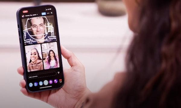 Instagram: Live Rooms erlauben Video-Streams mit 4 Teilnehmern