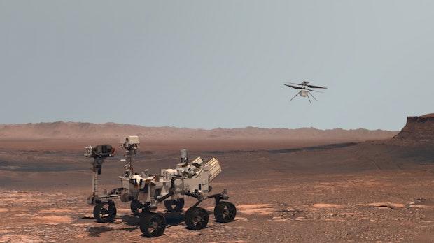 Nasa-Rover Perseverance: So verfolgt ihr die Mars-Landung im Livestream
