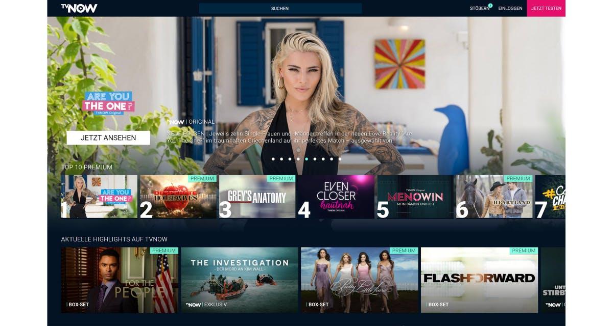 Rolle rückwärts: Streamingdienst TV Now wird zu RTL Plus - t3n – digital pioneers