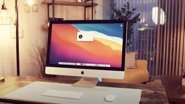 Youtuber baut ersten DIY-iMac mit M1-Chip – aus Mac-Mini-Teilen