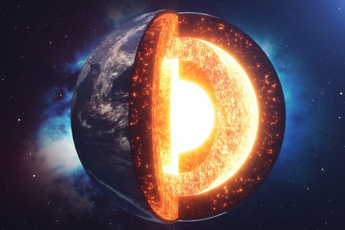 Innerster Erdkern: Algorithmus entdeckt 5. Schicht im Erdinneren - t3n – digital pioneers
