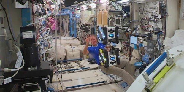 Weltraumschrott Gecko-Technologie ISS Gecko