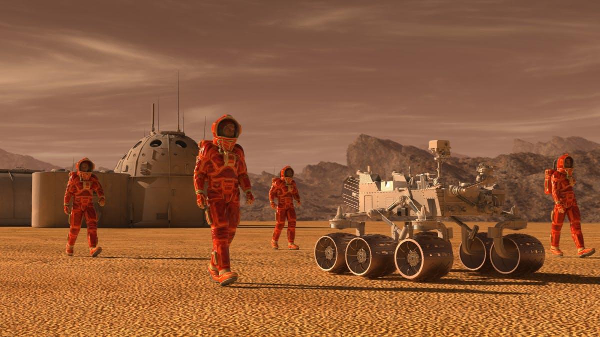 5 Dinge, die du diese Woche wissen musst: Faszination Mars