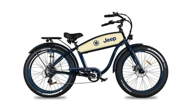 E-Bike Cruiser CR 7005: Jeep bringt Pedelec im Retro-Look