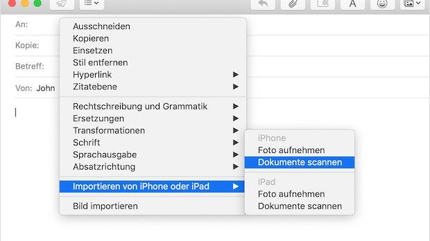 So könnt ihr den Dokumentenscanner eures iPhones vom Mac aus steuern