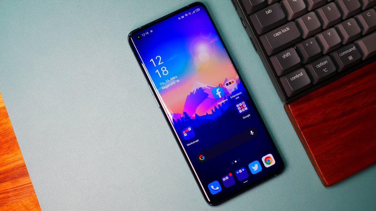 Oppo Find X3 Pro in the test: science fiction smartphone with microscope camera