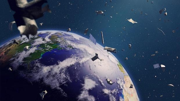 ISS: Team testet erfolgreich deutsche Gecko-Technologie gegen Weltraumschrott