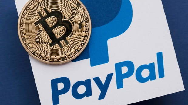Paypal startet Zahlungsfunktion via Bitcoin und Co
