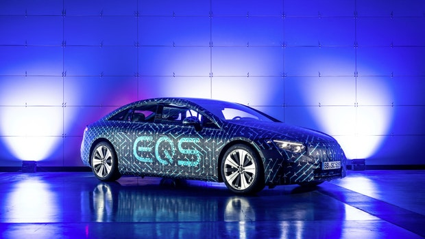 Mercedes EQS. (Bild: Mercedes-Benz AG)