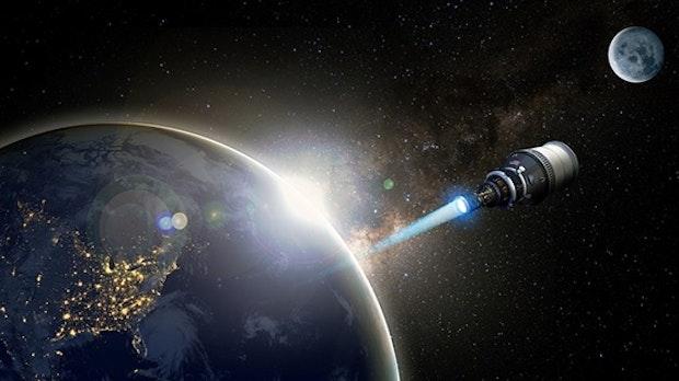 Testflug schon 2025: Blue Origin soll Raumschiff mit nuklearem Antrieb bauen