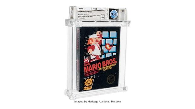 660.000 Dollar für Super Mario Bros: Video-Game von 1986 jetzt wertvollstes Spiel der Welt