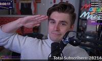 30 Tage Dauer-Stream: Twitcher Ludwig Ahgren stellt Ninjas Subathon-Rekord ein