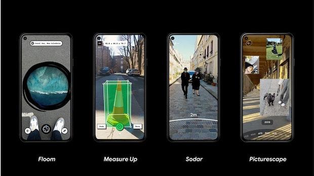 WebXR Experiments: Google startet Web-Showcase für AR und VR mit eigenen Apps
