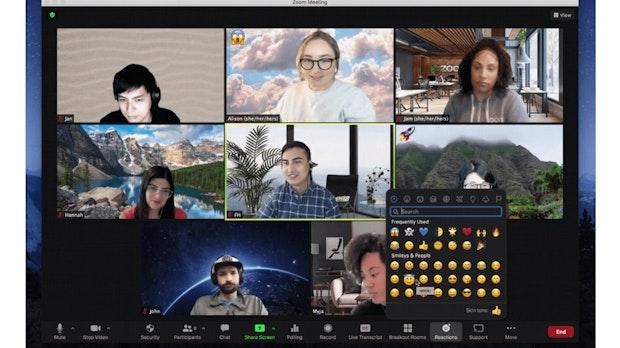 Komfort-Update: Zoom bringt zum Jubiläum neue Emojis und mehr