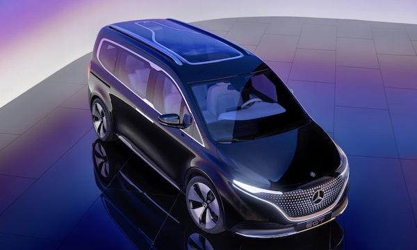 Mercedes EQT: Konzept für elektrische T-Klasse vorgestellt