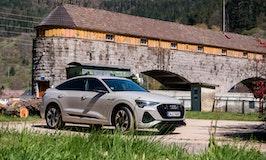 Audi E-Tron Sportback im Test: Hingucker mit hohem Fahrtkomfort