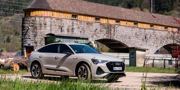 Audi E-Tron Sportback im Test: Ein echter Hingucker unter den Elektroautos
