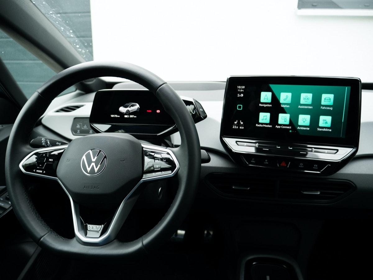 VW ID 3 in the test