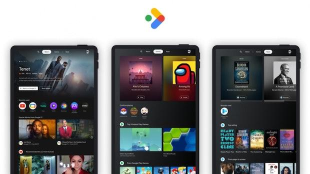 Ohne Samsung: Google kündigt neue Entertainment-Startseite für Android-Tablets an