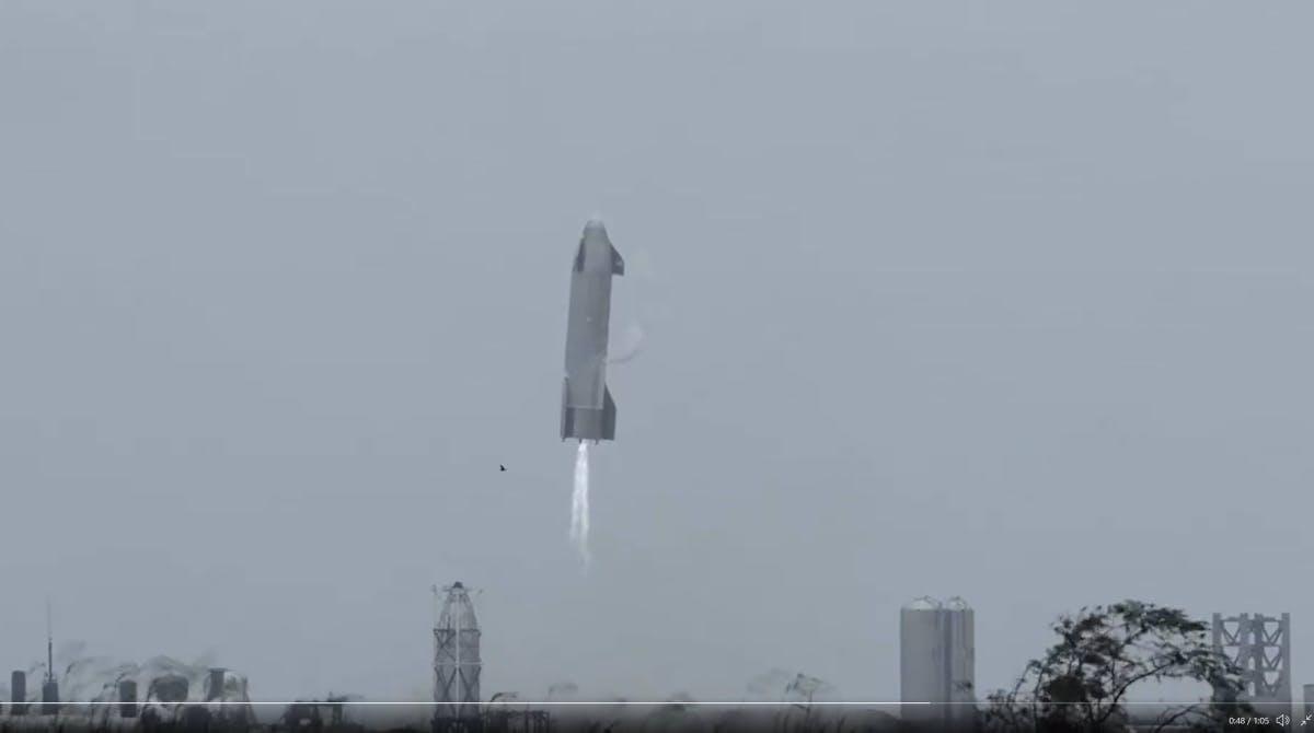 SpaceX zeigt spektakuläres Video des fünften Starship-Flugs