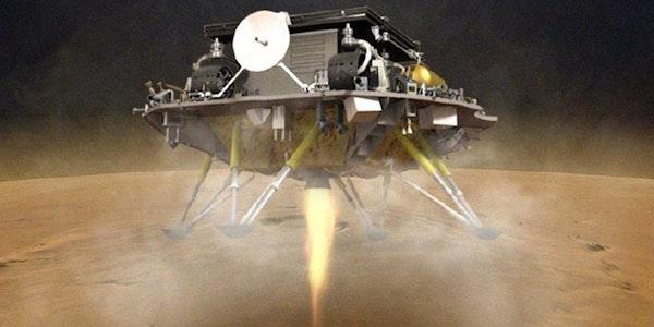 Chinas Mars-Mission meldet Erfolg: Rover Zhurong hat den Planeten erreicht