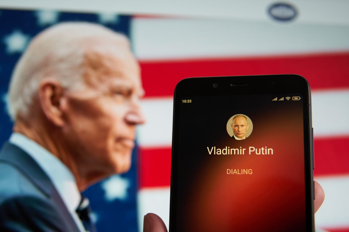 Cyber attacks from Russia: Biden takes Putin to his chest
